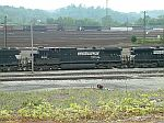 NS 8826 in a sea of yard tracks