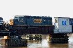 CSX SD40-2 8336