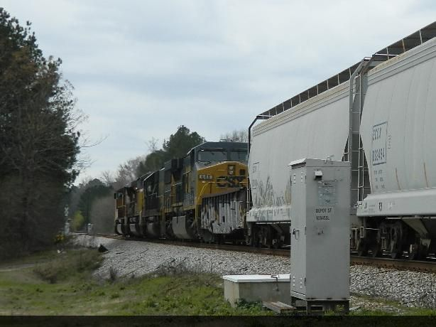 UP 4951 (SD70M) UP 8526 (SD70ACe) CSX 8577 (SD50) CSX 648 (AC60CW)