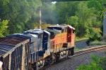 BNSF 4946 CSX 3091