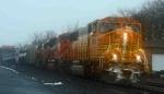BNSF 9914 - Ethanol Train