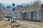 BNSF 4197 CSX 3003