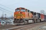 BNSF 4124 NS 9226