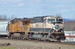 BNSF 9666 UP 5520