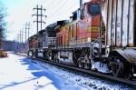 BNSF 4044 NS 1086 BNSF 4849