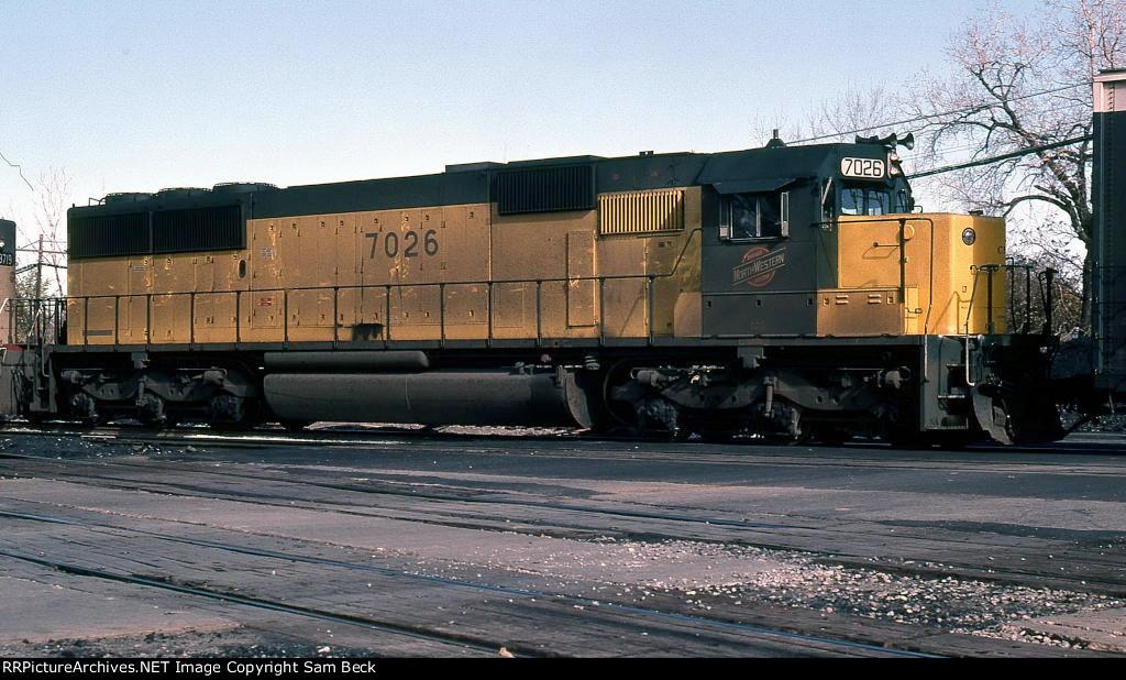 CNW 7026--SD50