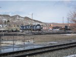 Montana Rail Link at Livingston, Montana
