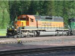 BNSF SD40-2 helper nos. 6819 and 8031
