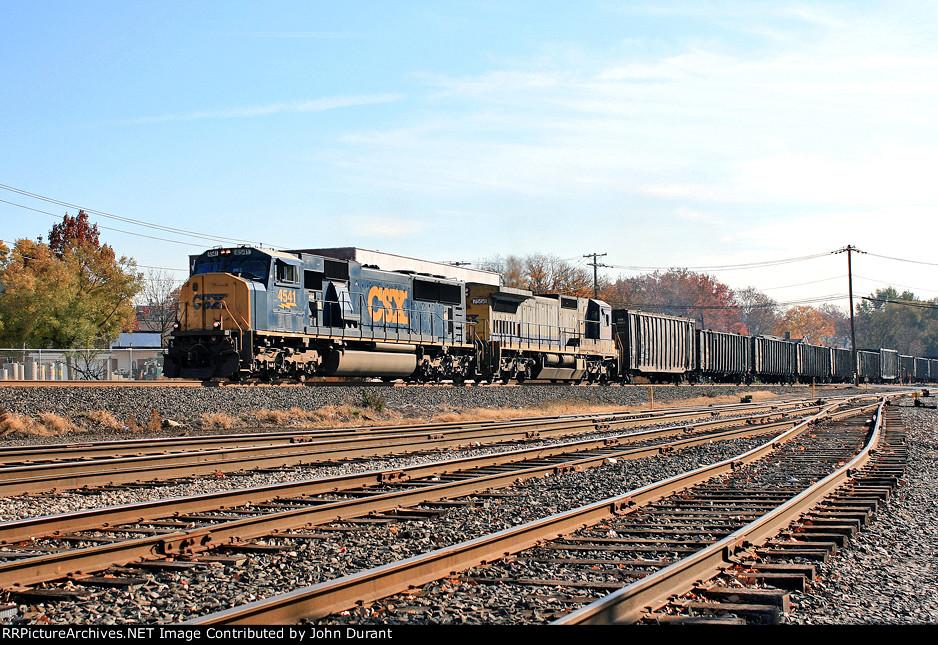 CSX 4541 on Q-434