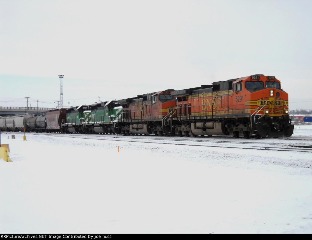 BNSF 5291 West