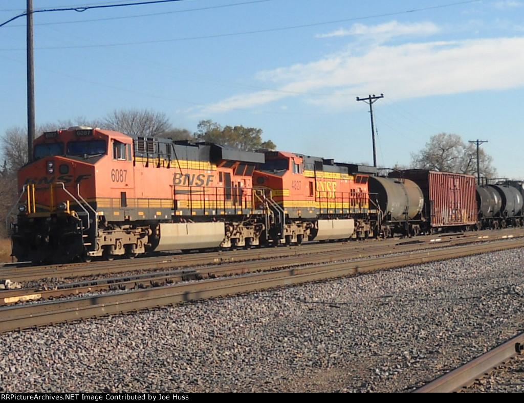 BNSF 6087 West
