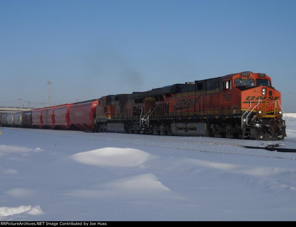 BNSF 7597 East