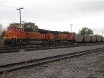 BNSF 9207 West