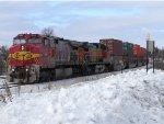 BNSF 655 East