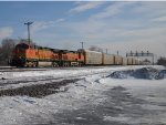 BNSF 4581 WEST