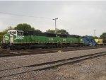 BNSF 8135 West