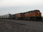 BNSF 4722 EAST
