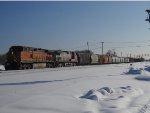 BNSF 4724 West