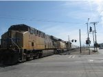 Union Pacific 5418 and 5480 3-19-2013