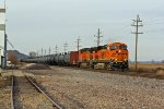 BNSF 7390 gets ready to hit the main.