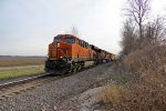 BNSF 6720 leads a EB freight up the k line.