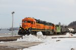 BNSF 2815 Works the Cosgrove turn.