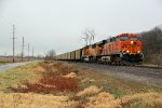BNSF 5788 Heads up a Nb empty coal train.