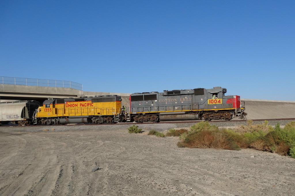 UP 1004 & 1355