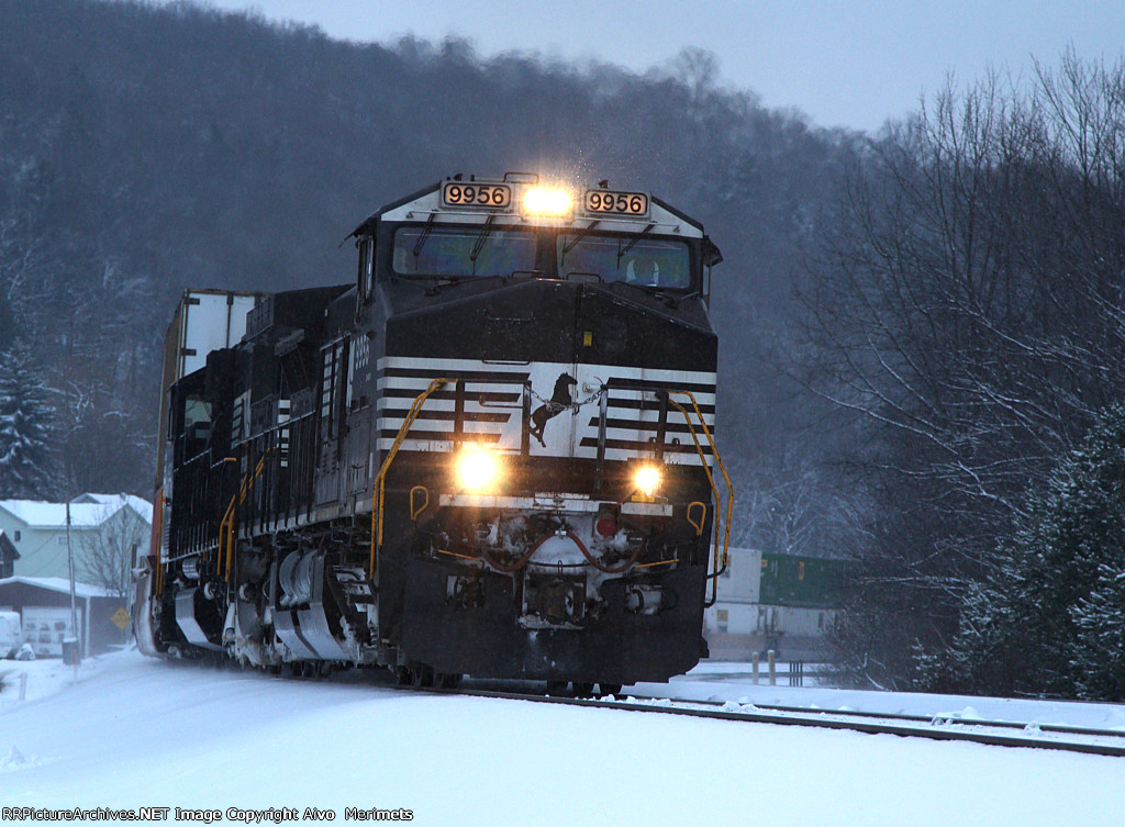NS 20R at Mile 254 Pittsburgh Line