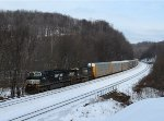 NS 28T at Mile 255 Pittsburgh Line