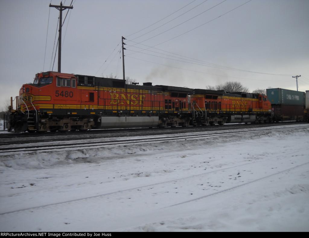 BNSF 5480 West