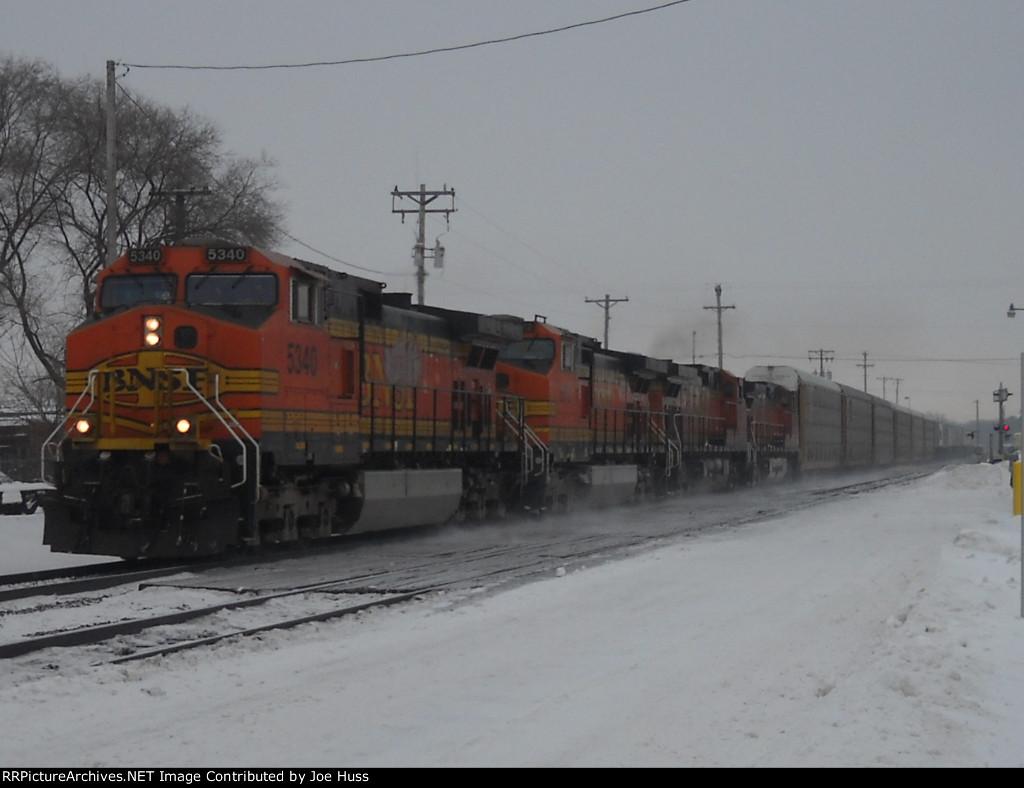 BNSF 5340 West