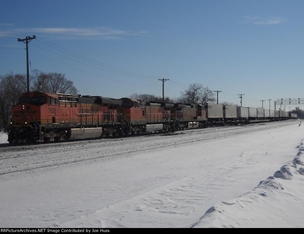 BNSF 7533 West