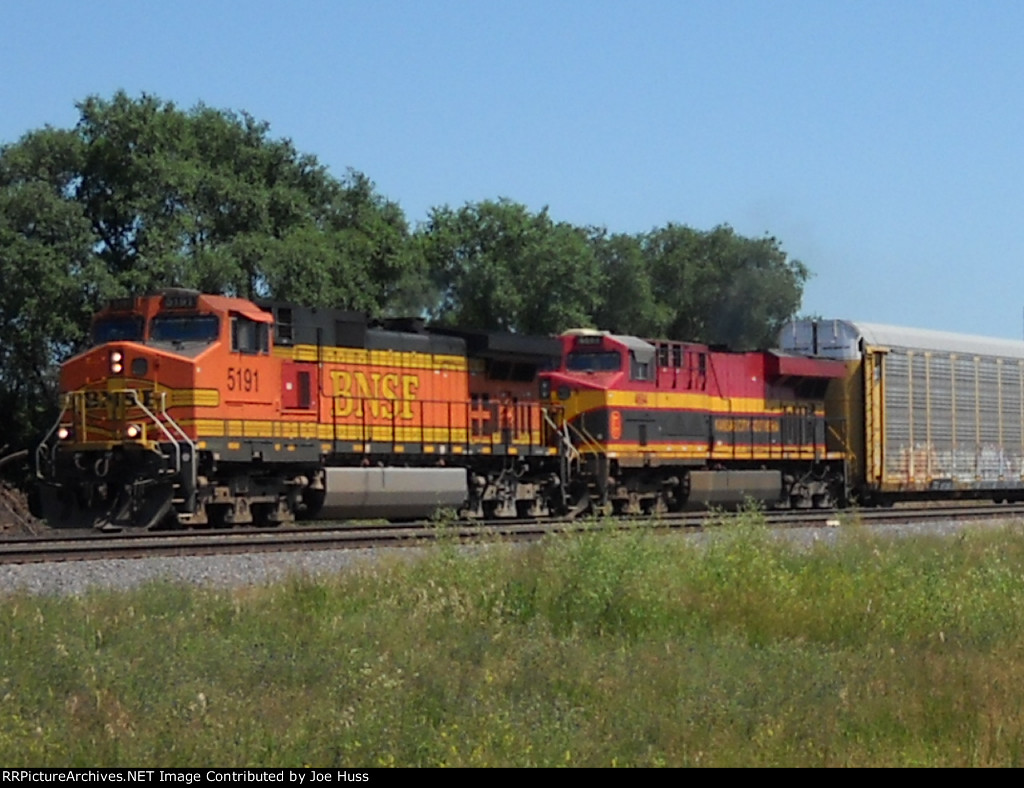 BNSF 5191 West