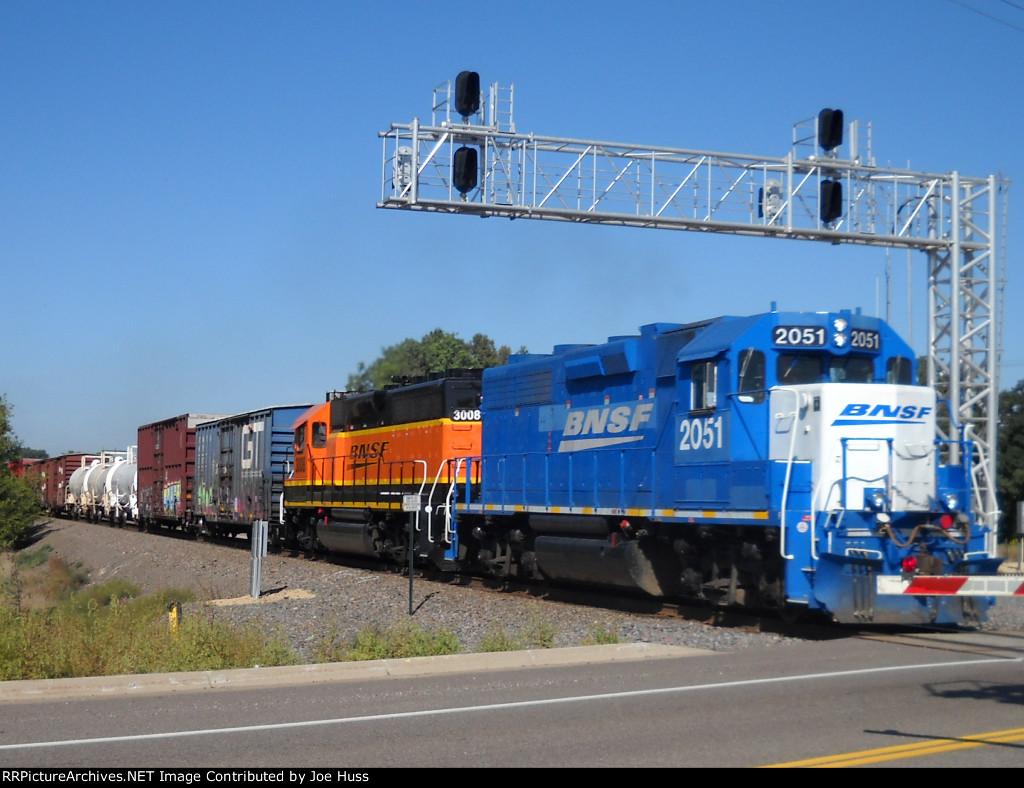 BNSF 2051 East