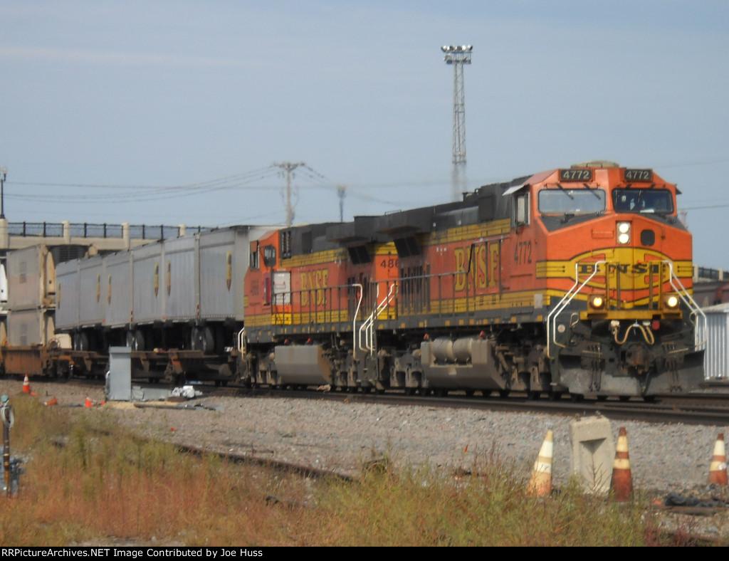 BNSF 4772 East