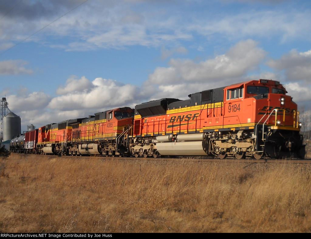 BNSF 9184 East