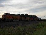 BNSF 5098 West