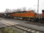 BNSF 6797 and NS 9337