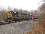 CSX 8510 and 835