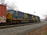 CSX 835 and 8510