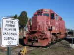 Guess that sign is railroad related?