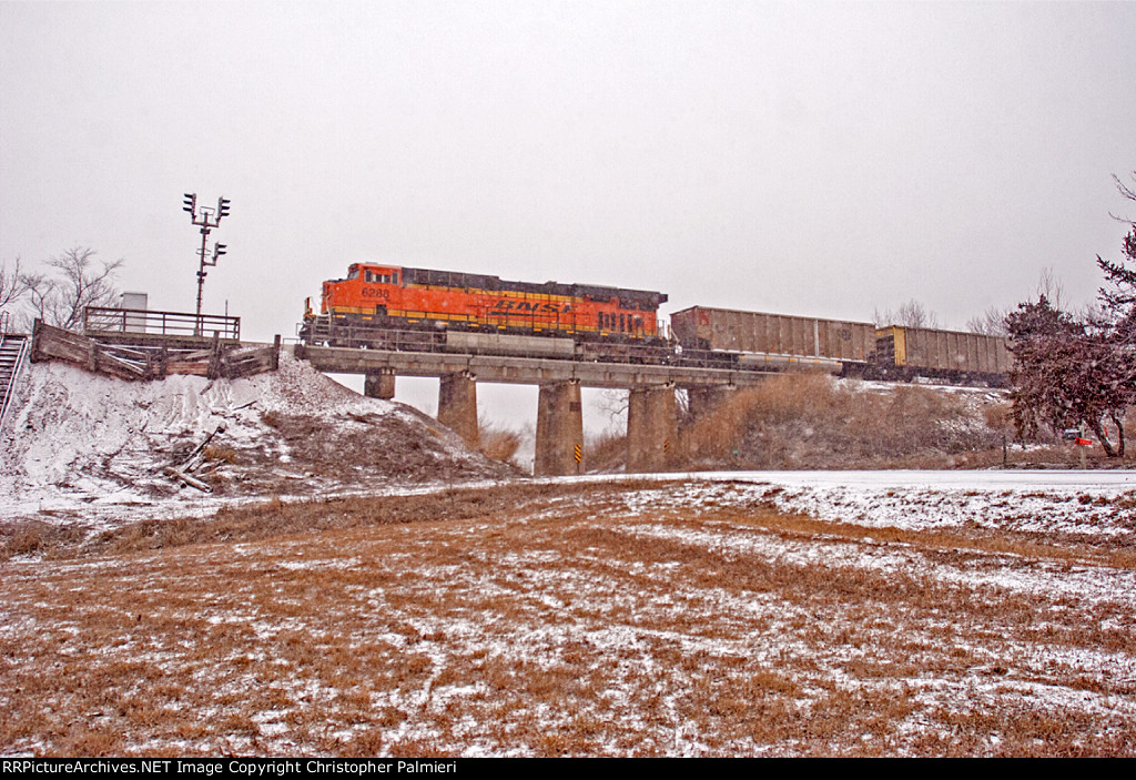 BNSF 6288 - Rear DPU on C-BTMPCT0-05