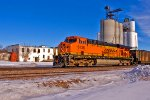 BNSF 6138 - Rear DPU on C-NAMCEB0-08