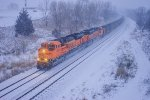 BNSF 9120 and BNSF 9058 Lead C-NAMTHH0-34