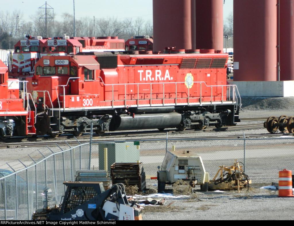 TRRA #300 Ex-SD45 Now SD40-3