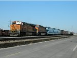BNSF 7357 -- Galesburg - Madison Train
