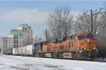 BNSF 6740 On NS 175 Eastbound