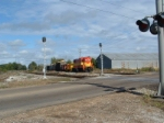 Columbus switcher taking Job 47's train to the steel mill. 1