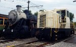 N&W #578 And USAX #7178